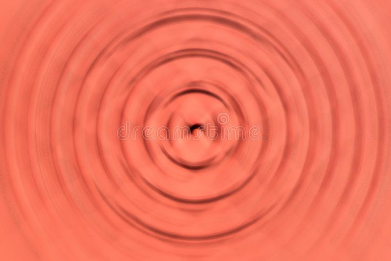 Предпосылка оранжевой волны нерезкости картины графическая иллюстрация вектора