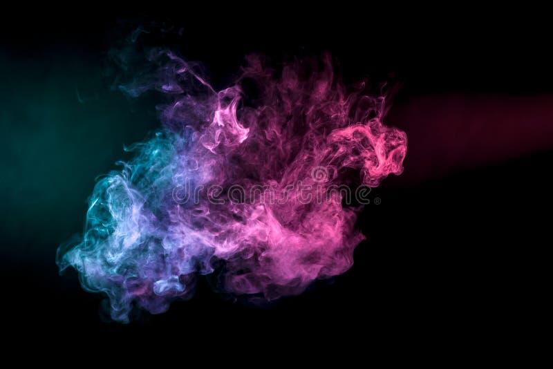 Предпосылка от дыма vape иллюстрация штока