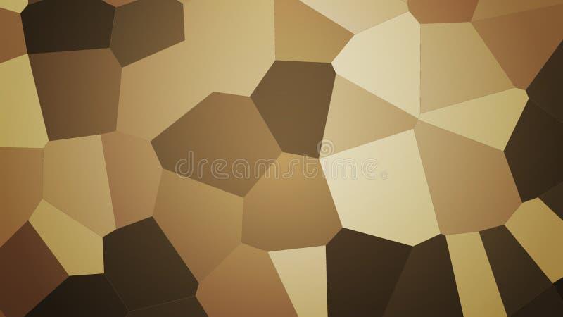 Предпосылка от полигонов иллюстрация штока