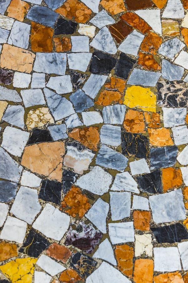 Предпосылка от частей пестротканой мозаики стоковое фото