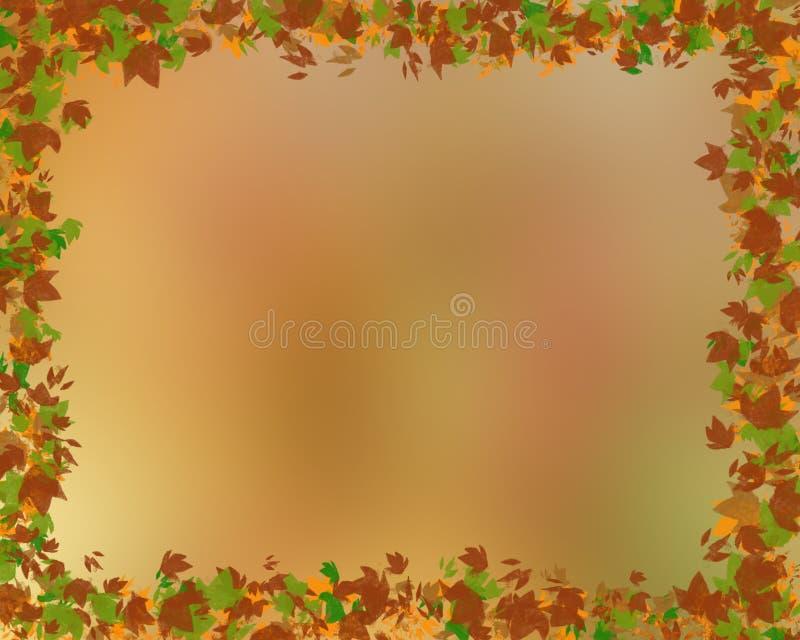 Предпосылка падения с красочными листьями стоковые фото