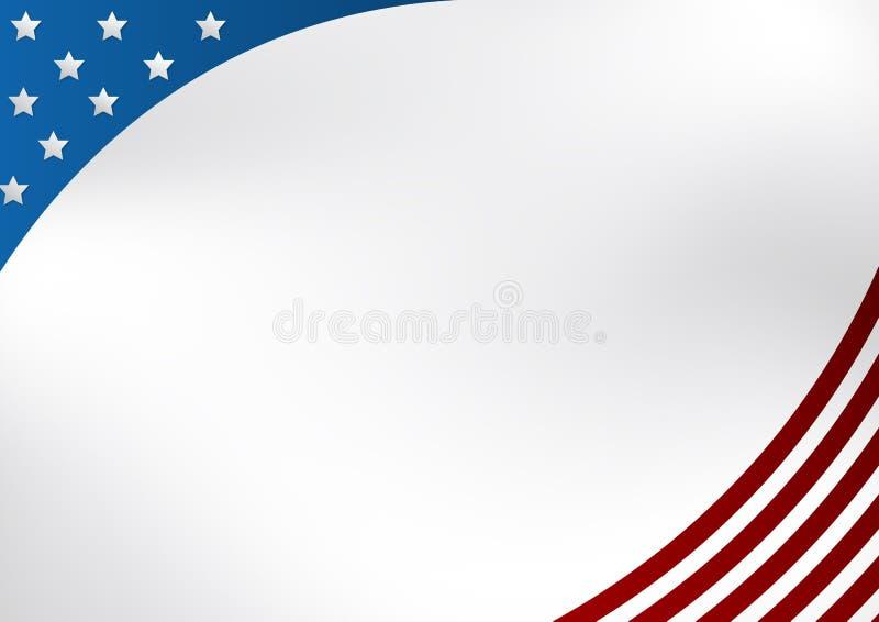 предпосылка патриотические США иллюстрация штока