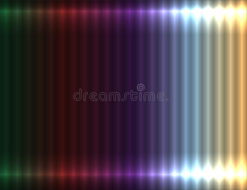 Предпосылка пестротканого пастельного градиента линейная, неоновое влияние иллюстрация вектора