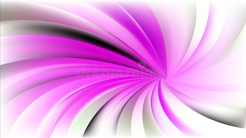 Предпосылка пинка и белых спиральная лучей иллюстрация штока