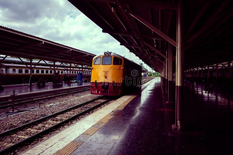Предпосылка поезда стоковые изображения