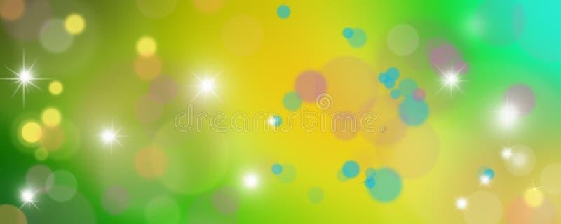 Предпосылка покрашенных кругов, абстрактная красочная предпосылка кругов бесплатная иллюстрация