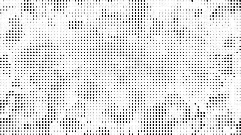 Предпосылка поставленная точки полутоновым изображением Картина вектора влияния полутонового изображения Circ иллюстрация вектора
