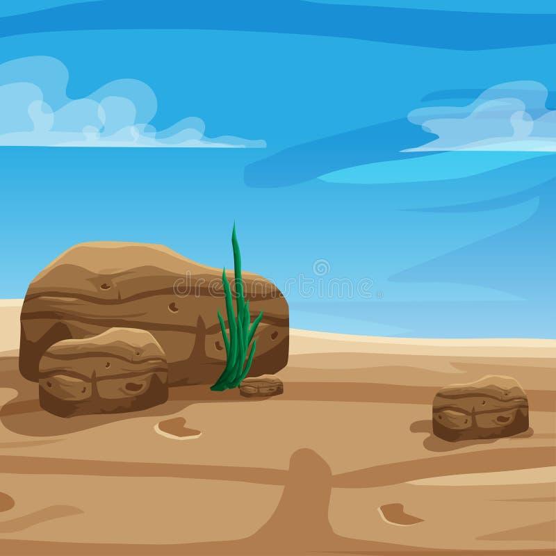 Предпосылка пустыни бесплатная иллюстрация