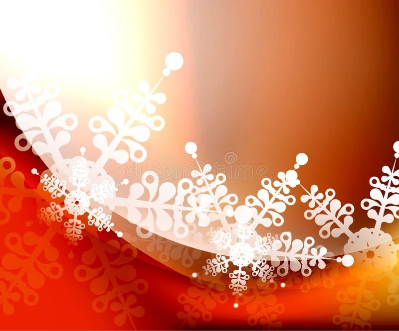 Предпосылка рождества вектора иллюстрация вектора