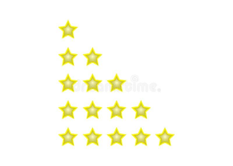 Предпосылка рождества со звездами 3d иллюстрация штока