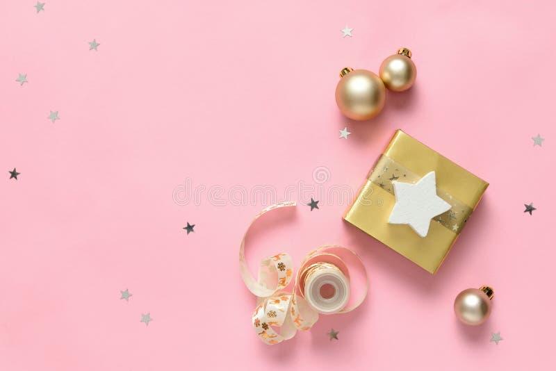 Предпосылка рождества с пустым пространством для приветствуя текста стоковое фото
