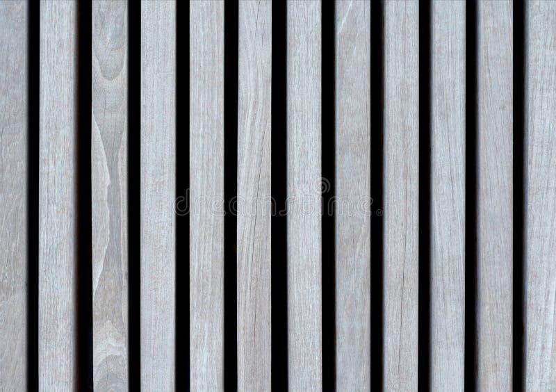 Предпосылка света - серых деревянных планок, покрашенная с экологически дружелюбными цветами, выровнянная вертикаль стоковые изображения rf