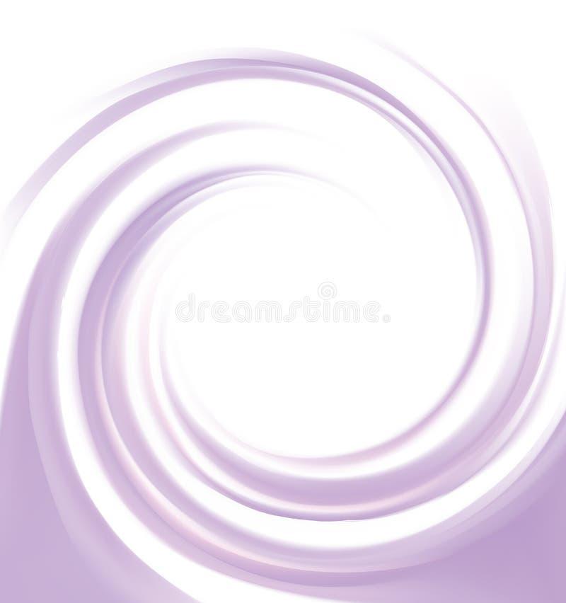 Предпосылка свирли конспекта вектора фиолетовая бесплатная иллюстрация