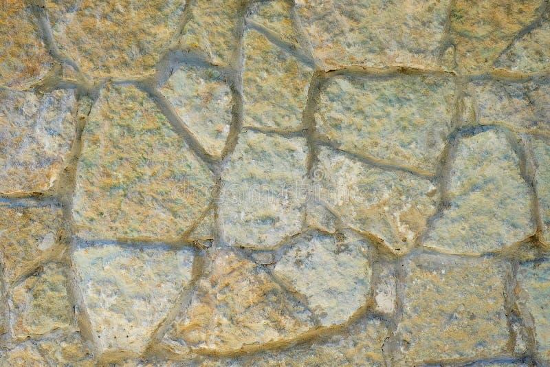 предпосылка сделала каменную белизну стены текстуры камней стоковые фотографии rf