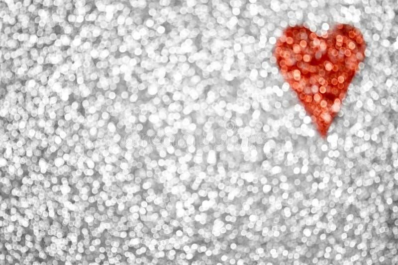 Предпосылка сердца яркого блеска