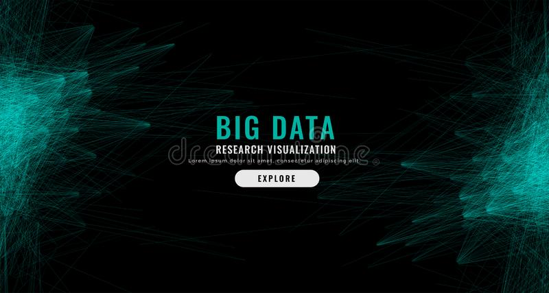 Предпосылка сетки данным по цифров абстрактная большая бесплатная иллюстрация