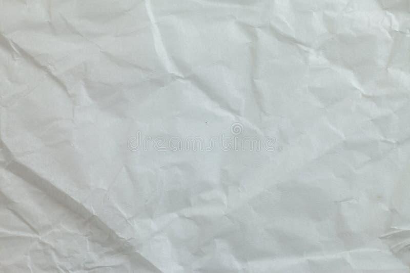 Предпосылка скомканной бумаги стоковые фото