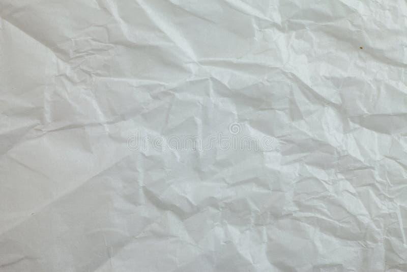Предпосылка скомканной бумаги стоковые фотографии rf