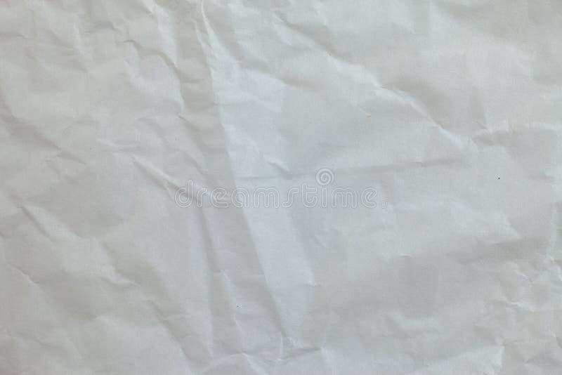Предпосылка скомканной бумаги стоковая фотография rf