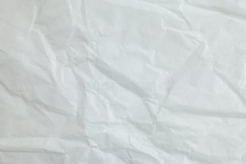 Предпосылка скомканной бумаги стоковые изображения