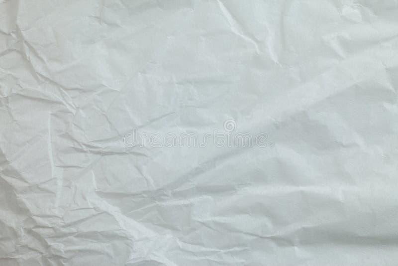 Предпосылка скомканной бумаги стоковое фото rf