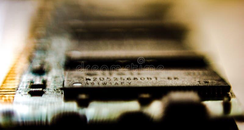 Предпосылка создалась со съемкой детали напечатанной проводки теперь спасибо технология мы можем создать всегда небольшое и больш стоковое фото