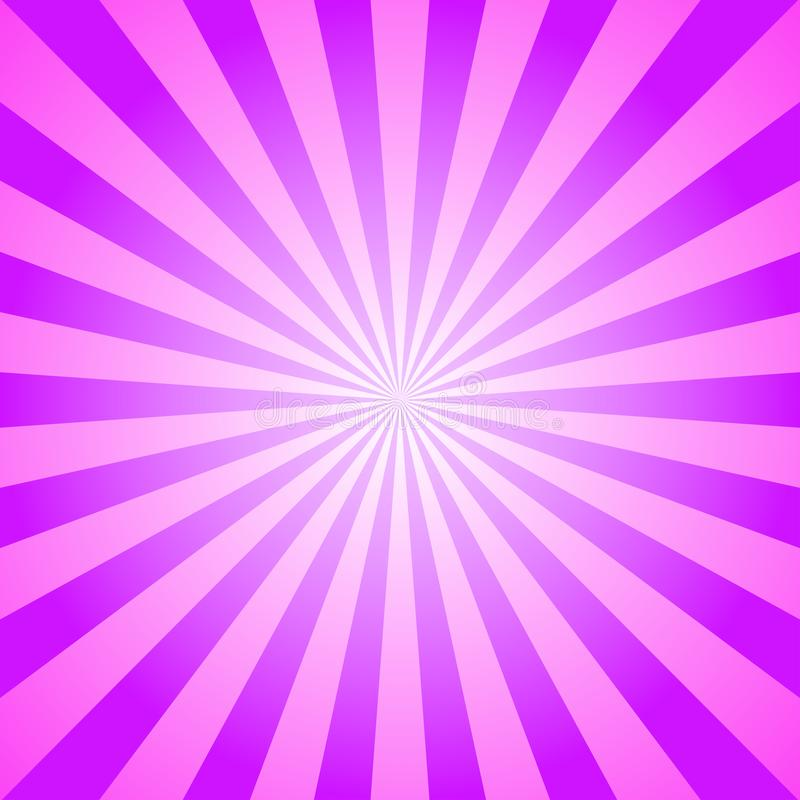 Предпосылка солнечного света Фиолетовая и розовая предпосылка сигнала цветовой синхронизации абстрактный вектор иллюстрации фанта иллюстрация вектора