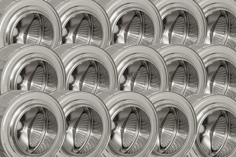 Предпосылка стальных барабанчиков. стоковое изображение rf