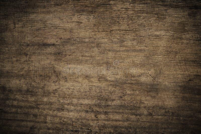 Предпосылка старого grunge темная текстурированная деревянная, поверхность ol стоковые изображения