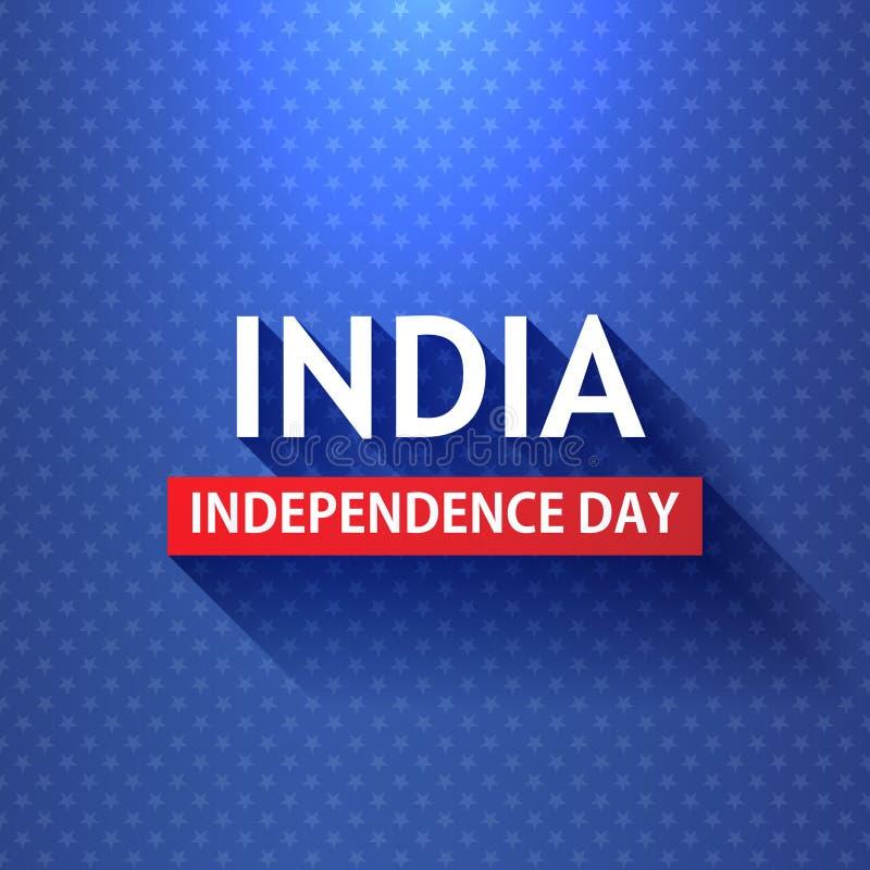 Предпосылка страны Дня независимости Индии Индеец вектора патриотизма флага Republick Гордость знамени концепции свободы tricolor иллюстрация вектора