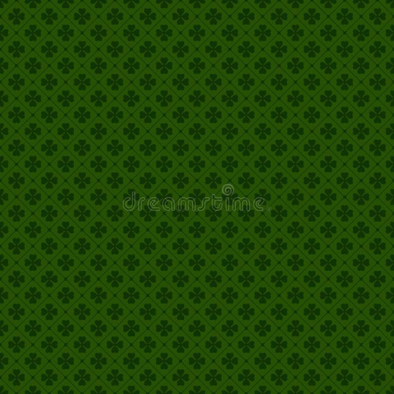 Предпосылка счастливого дня ` s St. Patrick безшовная иллюстрация штока