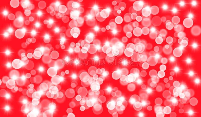 Предпосылка с пузырями и самыми интересными, красными стоковое изображение rf