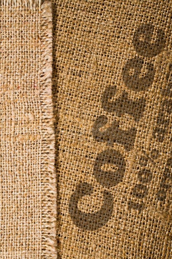 Предпосылка с текстурой мешковины стоковая фотография rf
