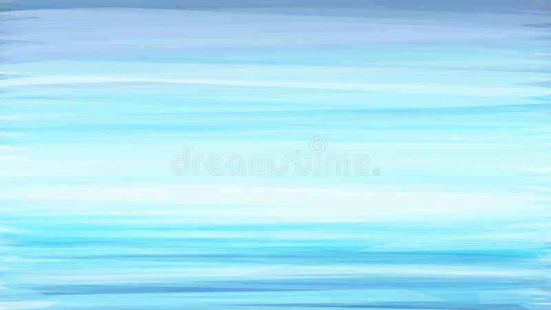 Предпосылка с brushstroke сини бирюзы иллюстрация вектора