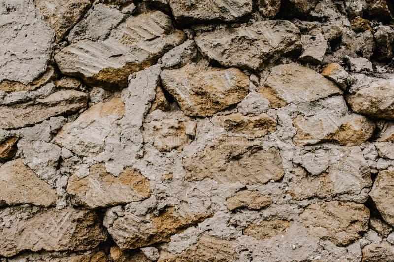Предпосылка, текстура, камень WallBro абстрактного grunge текстуры старое стоковая фотография