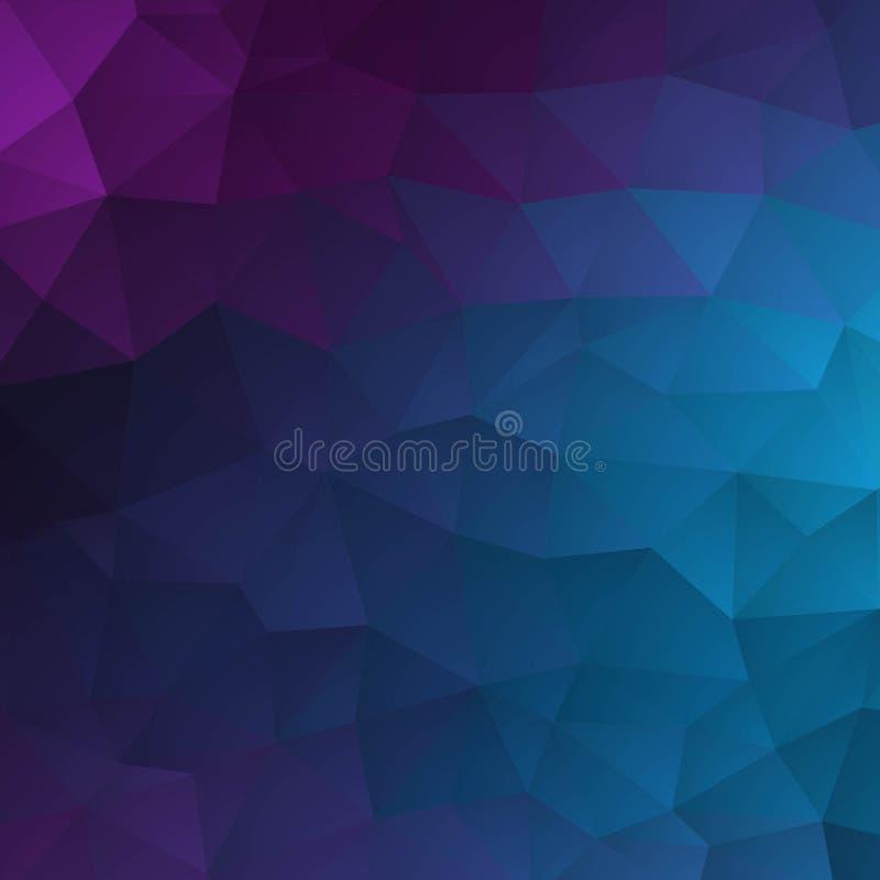 Предпосылка текстурированная конспектом полигональная Дизайн предпосылки треугольника вектора расплывчатый 10 eps бесплатная иллюстрация