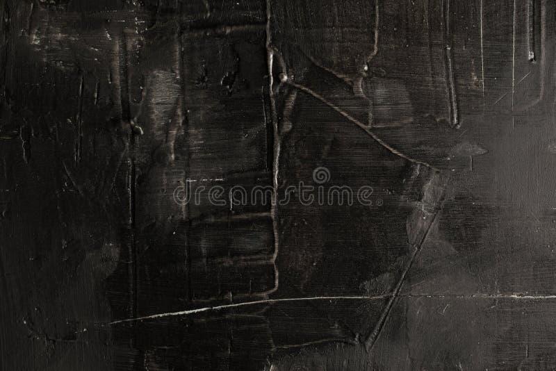 Предпосылка текстурированная чернотой с царапинами Космос для текста абстрактная предпосылка открытый космос Рамка стоковые фото