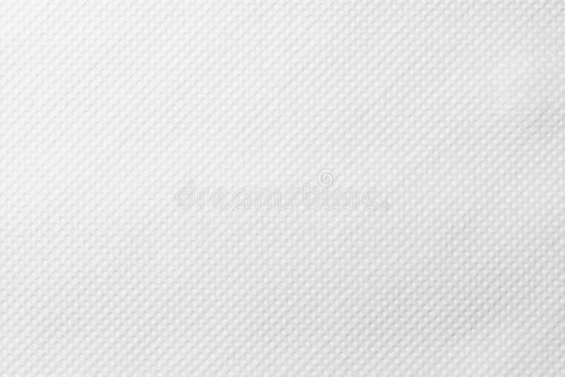 Предпосылка текстурированной выбитой белой бумаги стоковая фотография