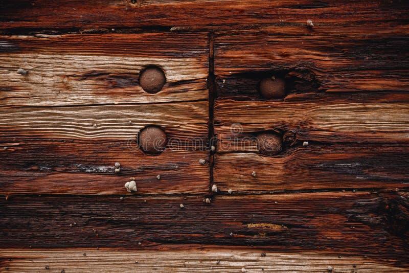 Предпосылка текстуры дизайна старая темная деревянная стоковое изображение rf