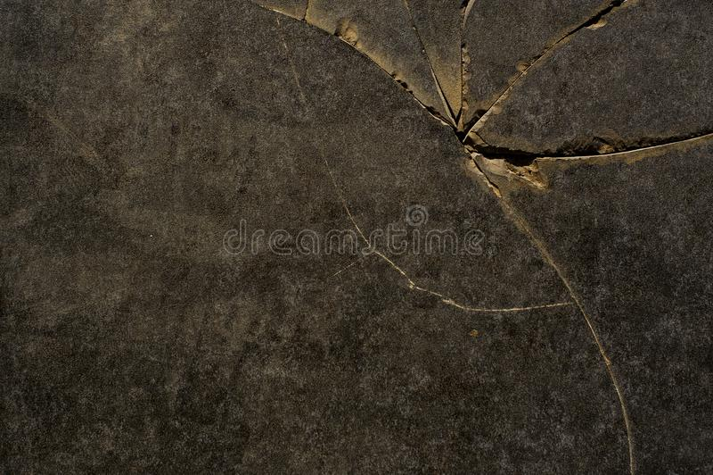 Предпосылка текстуры макроса треснутого мраморного пола стоковое фото rf