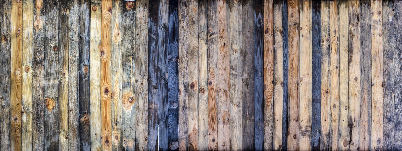 Предпосылка текстуры стены планки Брауна деревянная покрашенная стоковая фотография rf