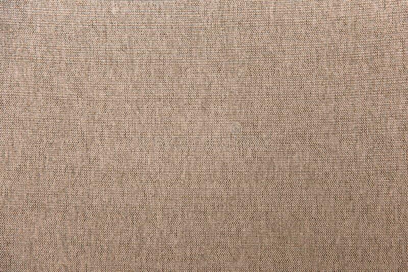 Предпосылка текстуры ткани ткани Брайна конца-вверх стоковые фотографии rf