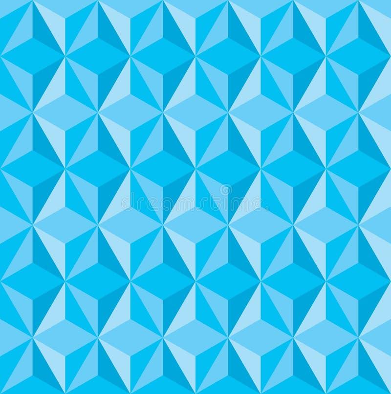 Предпосылка текстуры треугольника конспекта низкая поли иллюстрация вектора