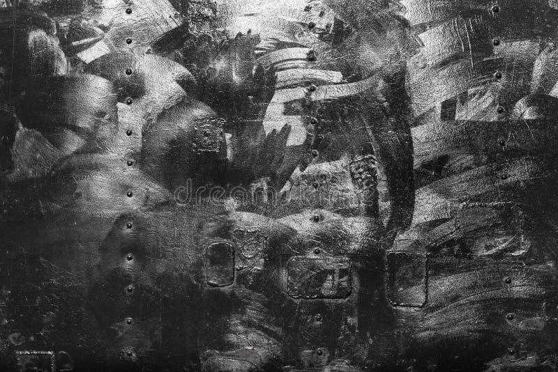Предпосылка текстуры утюга metall Grunge с космосом для текста или изображения стоковая фотография rf
