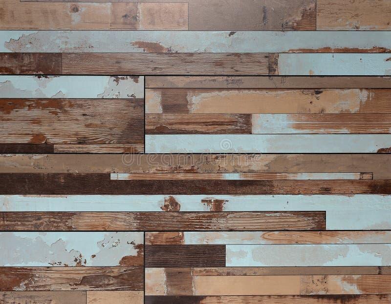 Предпосылка текстуры цвета деревянная, зерна деревянной доски, старый пол Striped планки стоковые изображения