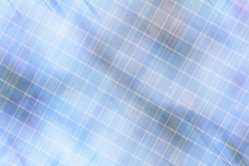 Предпосылка ткани в винтажном стиле -- фланель, связанный хлопок в классическую шотландскую клетку и текстурированный с картиной стоковые изображения