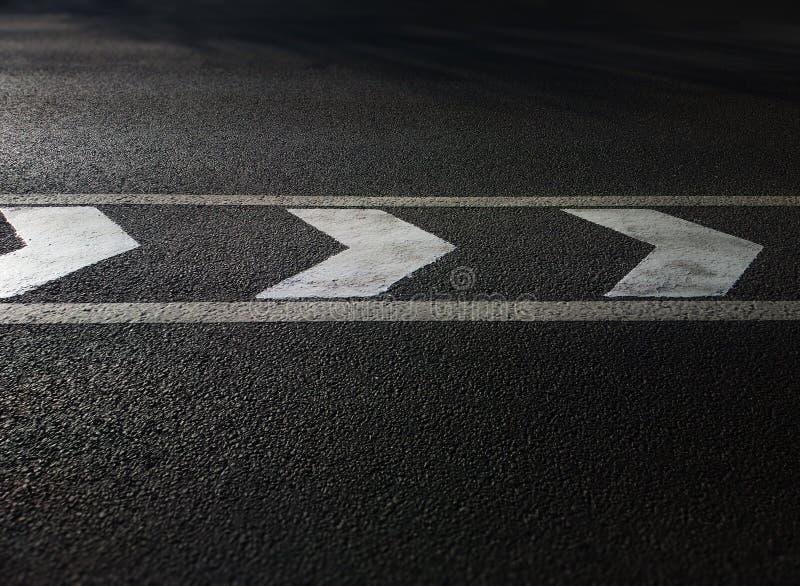 Предпосылка транспорта стрелок дорожной разметки стоковые изображения rf