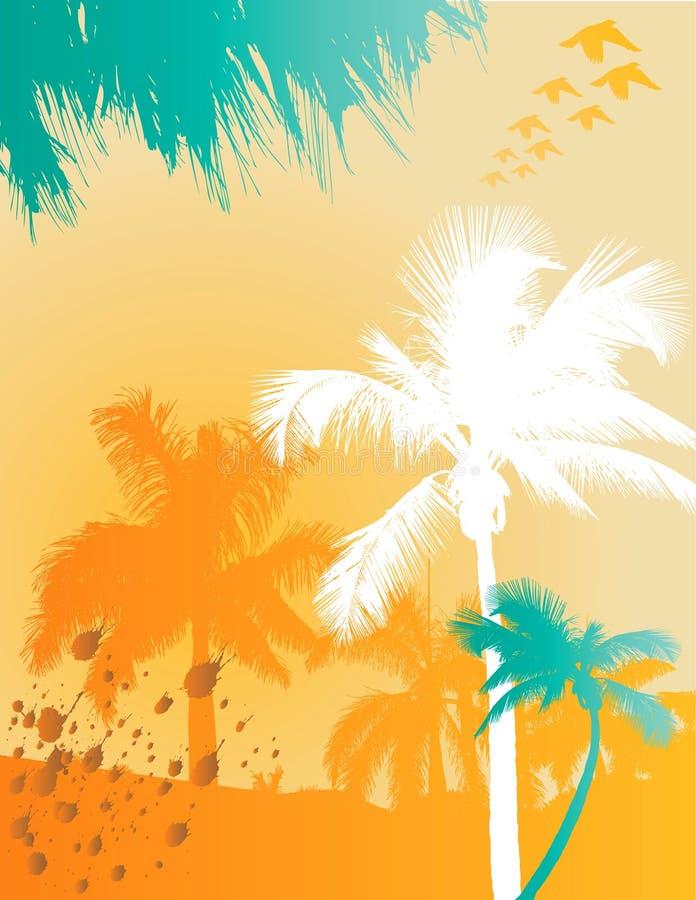предпосылка тропическая бесплатная иллюстрация