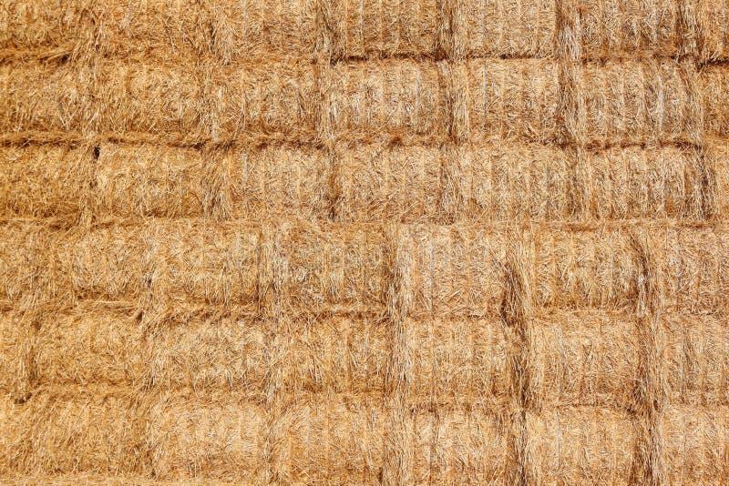 предпосылка тюкует haystack стоковая фотография rf