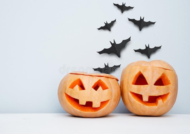 Предпосылка украшения хеллоуина стоковые изображения